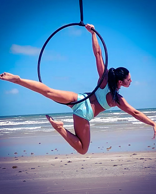 Aerial Ring and Hoop professionals
